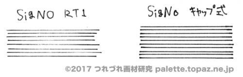 ノック式とキャップ式の比較